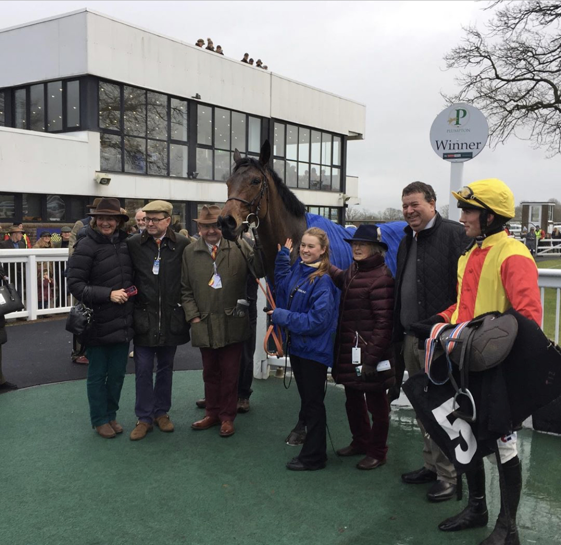 CHRISTMAS IN APRIL - Sussex National winner for Swallowfield Racing