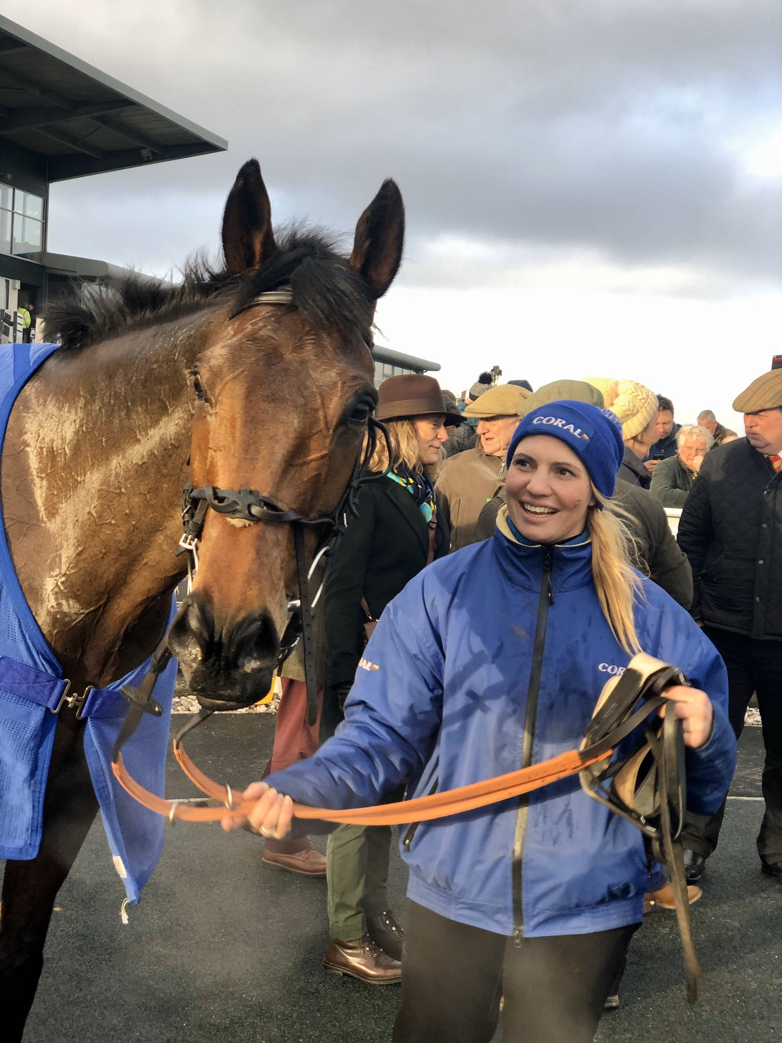 CHRISTMAS IN APRIL - lands the Devon National at Exeter